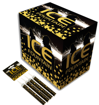 Buy ice fountains from ClubCandles- UK's leading ice fountains Supplier